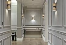 Hallways / Hallway inspiration. How to decorate a hallway and what to put in an entranceway to decorate your home.