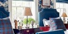 Boys Rooms / Classic American & Hamptons Interior Design, Decorating and Styling - Boys Rooms