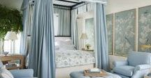 Bedrooms / Classic American & Hamptons Interior Design, Decorating and Styling