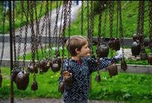Theme Trails / themed hiking trails for kids in Switzerland with interactive play stations along the trail