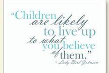 Parenting Inspiration / Inspirational parenting quotes.