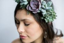 Hair Accessory / Beautiful hair accessories in mixed media