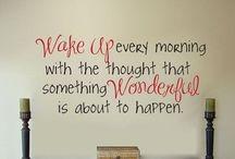 Motivation! Inspiration!