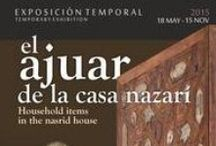 Exposiciones en el Monumento/Exhibitions in the Monument / El Patronato de la Alhambra y el Generalife desarrolla proyectos expositivos dentro del Recinto Monumental, muchos de ellos resultado de un exhaustivo trabajo interno de investigación complementado con interesantísimas aportaciones externas, ofertados al mundo de la investigación, potenciando un debate científico enriquecedor, y a la ciudadanía en general. / by Alhambra de Granada