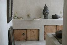 Bathroom Inspiration / Made possible with Cemcrete cement-based finishes.