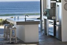 Kitchen Inspiration / Made possible with Cemcrete cement-based finishes.
