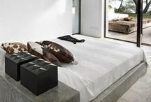 Bedroom Inspiration / Made possible with Cemcrete cement-based finishes.