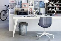 Workspace Inspiration / Made possible with Cemcrete cement-based finishes.