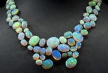 gems and jewels / colour inspiration - from nature's rocks and other jewelry