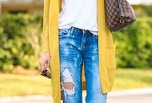 My Style / My style definitely leans toward the casual side, even when dressing up. I'm all about comfort, all about neutrals. This is me.
