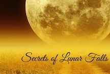 Book: Lunar Falls Trilogy / Images of the people and things that inspired me while writing the Lunar Falls Trilogy. / by Lashell Collins