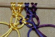 Macrame & Textile Tutorials / Tutorials for macrame, decorative knotting techniques and other textile crafts such as crochet and felt making.