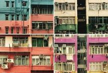 Asian Megalopolis & Cities / Tokyo, Osaka, Sapporo, Hong Kong, Shanghai, Bangkok, Singapore, Kuala Lumpur, Taipei, Macau...