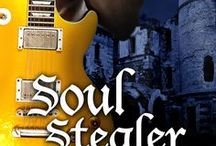 Book Series: Rock Shifter Fairytales / Images that inspired me while writing Soul Stealer and Lion Tamer, books one and two in the Rock Shifter Fairytales. In the stories, superstar shifter, Morpheus Wolfe, lives in a famously haunted, seriously creepy mansion along with his bandmates - Dash Lyons, Raven Cloud, and Bradley Flyer. Drew lots of inspiration from every version of Beauty & the Beast - my favorite fairytale - along w/Cinderella, Sleeping Beauty and Red Riding Hood.