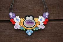 Nagual Art Accessories / Unique handmade soutache jewelry