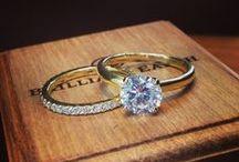 Bague fiançailles et mariage