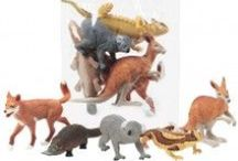 Wild Republic Educational Toys / Animal figurines in bags and tubes for sale