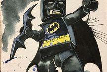 Art by Cynthia McDonald / Watercolor Fan Art for Comicon by Cyn Mc.