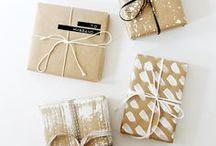 Cadeaus - inpakken