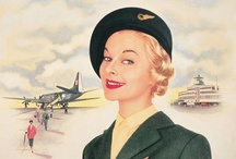 Vintage poster art / A collection of vintage Aer Lingus advertising posters from a golden age of air travel