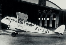 """Iolar - our first aircraft / The first Aer Lingus aircraft was a De Havilland DH84 Dragon EI-ABI named Iolar (""""Eagle"""" in Irish). The current Iolar is a sister ship of the original. Built in the year of Aer Lingus' birth (1936), the aircraft is fully restored and regularly appears at air-shows throughout Europe. It is a true credit to the airline and, in particular, to the Air Lingus personnel that volunteer their time towards its upkeep."""