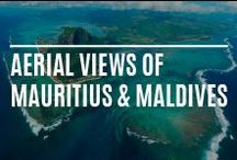 Aerial views of Mauitius & Maldives / Aerial Views of the Sun Resorts hotels and resorts in Mauritius and the Maldives, plus many other stunning vistas