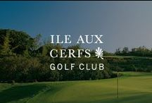 Ile aux Cerfs Golf Club / Ile aux Cerfs Golf Club is an 18-hole championship golf course, one of the best in the world, designed by famous golf champion Bernhard Langer. Surrounded by the crystal blue waters of the shallow lagoon & dotted with small lakes & ravines, giving golfers a unique experience in a beautiful setting.   / by Sun Resorts