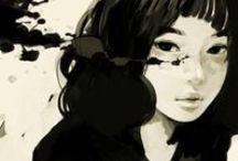 asian illustration / by claudia tremblay