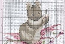 Cross stitch Kids