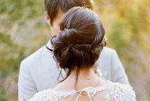 wedding hair / Hair cabelo casamento wedding / by Carolina Pareto