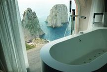 Bathroom / A place to rejuvenate and cleanse, and also to prepare yourself for the world outside or the world of dreams.