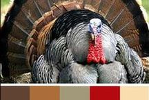 Thanksgiving Card Inspiration / The Kraft Journal Thanksgiving Color Challenge for cards..