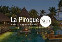 La Pirogue Resort & Spa, Mauritius / Located on the west coast of Mauritius, along one of the island's finest beaches, La Pirogue is one of the most iconic hotels of the island. / by Sun Resorts