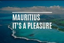 Mauritius | It's a pleasure / Mauritius is an island in the Indian Ocean famous for it's beautiful beaches, dramatic landscapes & abundance of wildlife. The Maldives is an island nation in the Indian Ocean consisting of a double chain of twenty-six atolls, oriented north-south, lying between Minicoy Island (the southernmost part of Lakshadweep, India) and the Chagos Archipelago. The chains stand in the Laccadive Sea, south-west of Sri Lanka & 400 kilometres south-west of India, & are home to many beautiful plants & species.