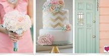 Mint Green, Pink & Brown Kraft Wedding Ideas / Cool green, soft pink and warm brown wedding inspiration from KraftOutlet.com