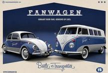 VW combies and Beetles