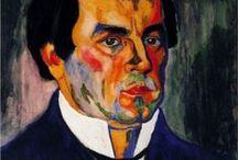 Авангардисты: Казимир Малевич / Российский и советский художник -авангардист польского происхождения, педагог, теоретик искусства, философ. Основоположник супрематизма — одного из наиболее ранних проявлений абстрактного искусства новейшего времени