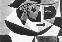 Пабло Пикассо (1881 - 1973) / Основоположник кубизма (совместно с Жоржем Браком и Хуаном Грисом), в котором трёхмерное тело в оригинальной манере рисовалось как ряд совмещённых воедино плоскостей. Пикассо много работал как график, скульптор, керамист и т. д. Вызвал к жизни массу подражателей и оказал исключительное влияние на развитие изобразительного искусства в XX веке. Согласно оценке Музея современного искусства (Нью-Йорк), Пикассо за свою жизнь создал около 20 тысяч работ