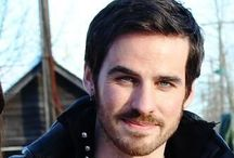Once upon a time - captain hook - killian jones- colin o'donoghue - captain swan / Captain hook, killian jones, colin o'donoghue captain swan