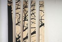 ✿ wall decor ✿ / Wall and indoor decor, inspired by nature.