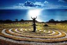 Labyrinths, Spirals, Cairns, Mandalas and Earthworks / by Kristine Newhouse
