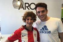 ARCO y el Athletic / Tenemos una relación muy especial con el Athletic y este tablero es sólo un reflejo de ella.
