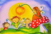 Virpi Pekkala / Post card illustrations by Virpi Pekkala
