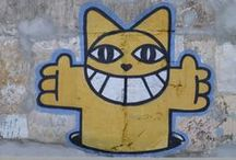 STREET ART / Tag, Graph, street art, fresque, Monsieur chat