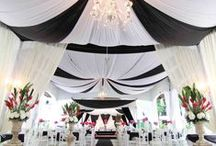 Fekete-fehér esküvő inspiráció