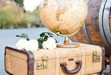 Utazás témájú esküvők