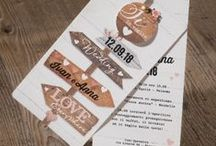 Wedding Invitations / Some Ideas to personalize your wedding from the very first impression