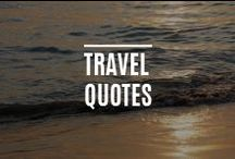 Travel Quotes / by Sun Resorts
