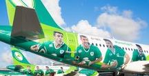 Rugby / As the official airline, and a proud sponsor of the Irish Rugby team, it's our privilege to not only fly the team to away matches, but also the legions of loyal fans who travel where it takes to get behind the team. It doesn't matter where the game is played, as long as it feels like home. #HomeAdvantage