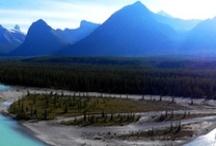 Jasper-Banff Park Ice-Highway